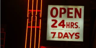 The Costs of 24/7 Always-On Business