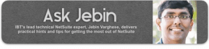 NetSuite Support and Consulting