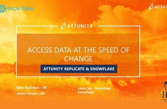 IBT Webinar: Attunity & Snowflake