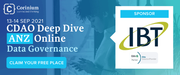 Join Us for IBT and Corinium's Deep Dive – Data Governance Event September 13-14